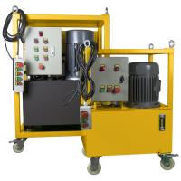 Buy cheap Hydraulic Driven Pipe Cutting And Beveling Machine Auto Feed Steel Body On Site from wholesalers