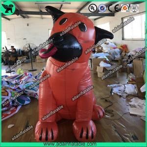 Wholesale Orange Ugly Inflatable Dog,Inflatable Dog Mascot,Inflatable Dog Cartoon,Giant Dog from china suppliers