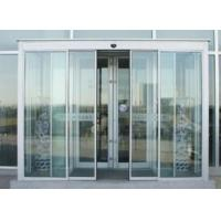 Induction Motorized Sliding Doors Automatic With Frame Or Frameless Frame for sale