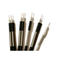 Wholesale UL CM Standard Coaxial RG6 Cable 18 AWG BC Conductor 95% BC Braid PVC Jacket from china suppliers