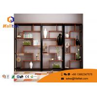 Wholesale Industrial Wooden Retail Display Shelves Wood Frame Modern Design For Book Display from china suppliers