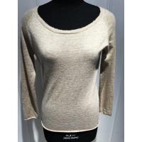 Wholesale Custom Ladies Raw Edge Sweater , Soft Pure Cashmere Women Warm Sweaters Pullover from china suppliers