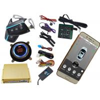 Buy cheap Mobile App Control Gsm Car Security System Using Mobile Phone SMS Alarm Information Feedback from Wholesalers