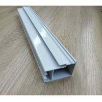 High Hardness Powder Coated Aluminium Extrusions For Doors / Windows Corrosion Resistance for sale