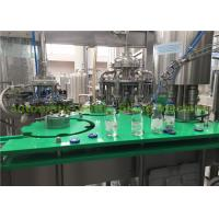 Wholesale Complete Orange Juice Glass Bottle Filling Machine / Hot Fill Bottling Equipment from china suppliers