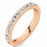 Wholesale Crystal Diamond Channel Setting Ring from china suppliers