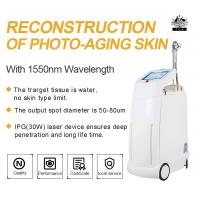 Buy cheap Erbium Glass Fractional Laser Resurfacing For Cheek Wrinkle Removal , Acne Scars Removal 1550nm Laser from wholesalers