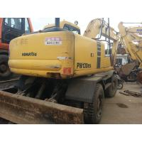 Wholesale Used KOMATSU PW120-6 Wheel Excavator from china suppliers