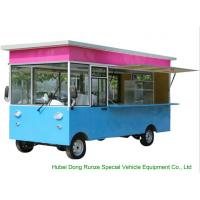 Small Commercial Mobile Kitchen Truck For Hot Dog Wagon Burrito Cooking And Selling for sale