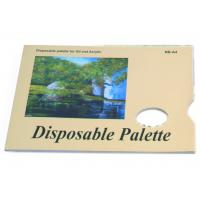 Wholesale Acrylic / Oil Painting Pad Disposable Palette Type , Artist Drawing Pad 48 sheets 58gsm from china suppliers