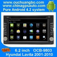 Wholesale Ouchuangbo Pure Android 4.2 Car Audio DVD GPS Navigation for Hyundai Lavita 2001-2010 4*45 Watts amplifier OCB-9803 from china suppliers