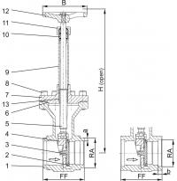 Type 09340 - Gate Valve