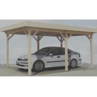 Wholesale Prefabricated Natural Outdoor Wooden House Carport Gazebo In Pine Wood from china suppliers