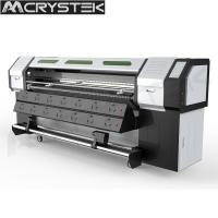 CrysTek CT-R180 roll and flatbed UV printer with Epson dx5 head for glass wood mental printing