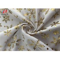 Wholesale 1MM Pile High Bronzing Printed Polyester Velvet Fabric Minky Plush Fabric from china suppliers