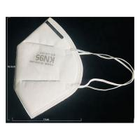 Wholesale High Filtration KN95 Face Mask , White Anti Smog Face Mask Soft Disposable from china suppliers