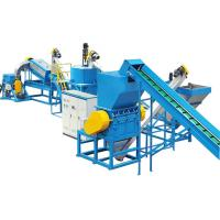 PET Bottle Flakes Plastic Washing Line Plastic Recycle Machine for sale