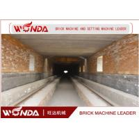 Wholesale Red Clay Brick Tunnel Kiln , Automation Tunnel Kiln For Brick Firing Process from china suppliers