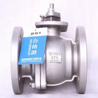 China stainless steel 304 JIS flange ball valve 10k 100A  price manual with handle for sale