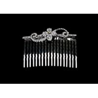 Elegant designs and Excellent finishing Crystal Bridal Jewelry wedding hair combs HC0063 for sale