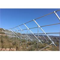Wholesale Q345B Galvanized Steel Channel For Solar Energy Mounting System Wind Resistance from china suppliers