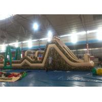 Wholesale Huge Inflatable Obstacle Course For Adults , Inflatable Outdoor Play Equipment from china suppliers