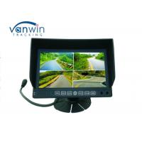 Wholesale 7 Inch Digital Stand Alone 4channel Car Quad Monitor DVR With SD card Recording for Van / Truck from china suppliers