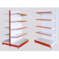 Wholesale White 5×1000 mm Layers Shelf Metal Display Shelf Supermarket Display Stands from china suppliers