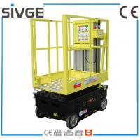 Wholesale 5m Working Height Aerial Scissor Lift Self Driven / Motor Driven For Fixture Works from china suppliers