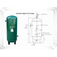 Wholesale Screw Portable Rotary Compressed Air Receiver Tank Replacement Low Pressure from china suppliers