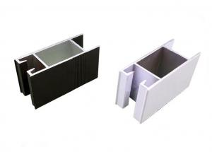 China White Black Powder Coating Aluminum Thermal Break Window Profiles on sale