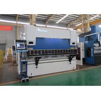 Wholesale 100 Ton 3100mm CNC Hydraulic Press Brake with DELEM DA66T 3D Graphical from china suppliers