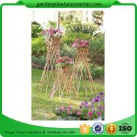 "Wholesale Outdoor Bamboo Garden Willow Garden Trellis 4"" In Diameter On A 57-1/4"" H Stand from china suppliers"