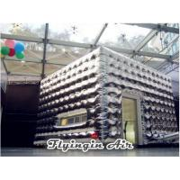 Buy cheap Customized Silver Inflatable Cubic Tent for Festival and Holiday Party from Wholesalers