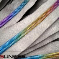 Wholesale no.3 nylon mesh zipper bag with reverse zipper in nylon zipper rolls from china suppliers