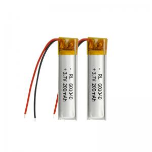 Wholesale 200mAh 3.7 Volt Lithium Polymer Battery Within 1C Rate from china suppliers