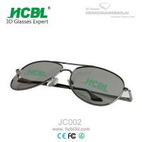 Quality Metal Frame Ray-Ban 3D Glasses Circular Polarized with 0.72 - 1.00mm Filter Lens for sale