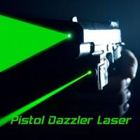 Buy cheap Metal housing pistol gun type Laser Dazzlers for securiy, police, military and from wholesalers
