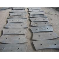 Wholesale Wear resistance plates Shot Blasting Cast Iron Ball Mill Liners High Hardness Cement Mill from china suppliers