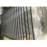 Wholesale Tubular Picket Zinc Steel Fence , Coated Decorative Wire Mesh Garden Fence from china suppliers