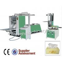 China Fully Automatic Facial Tissue Making Machine on sale