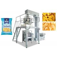 Wholesale Potato Chips Multihead Weigher Packing Machine 80 - 200MM Bag Width from china suppliers