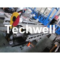 Wholesale Square / Round Mobile Downpipe Forming Machine / Cold Roll Forming Machine from china suppliers