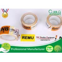 Quality 48mm 50mm BOPP Adhesive Printed Packing Tape For Shipping Box Carton for sale