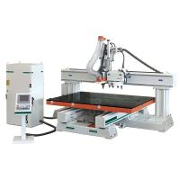 Quality Air Cooling HSD Spindle CNC Wood Router Machine For Wooden Doors / Cabinets for sale