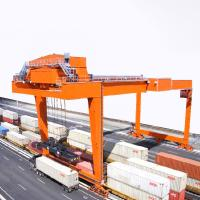 Wholesale Port Gantry Crane To Lift Shipping Container 20 ' 40 ' Rubber Tyred 1 Year Warranty from china suppliers