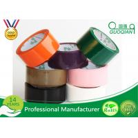 Quality Professional Strong Adhesive Parcel Coloured Packaging Tape 48mm X 66m for sale