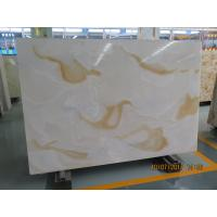 Wholesale White Quartz Solid Stone Countertops / Solid Surface Kitchen Countertops from china suppliers