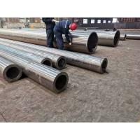 China Seamless steel ASTM A 335 pipes in large calibers for high(low and middium)pressure boilers and petrochemical industry on sale