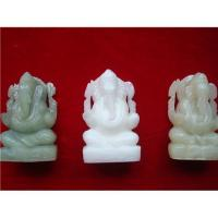 China Indian jade god ganesha statue on sale